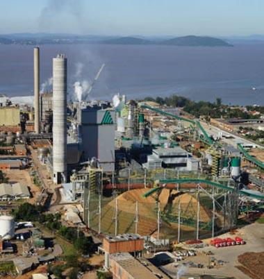 Visitas nas áreas de Produção de Celulose da Celulose Riograndense